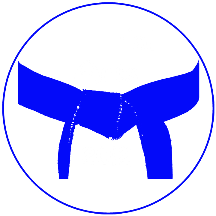 Martial Arts Light Blue Belt Gifts, Greeting Cards and Apparel
