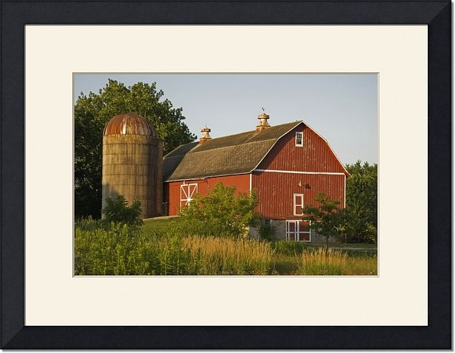 Red Barn Farm Photography Print