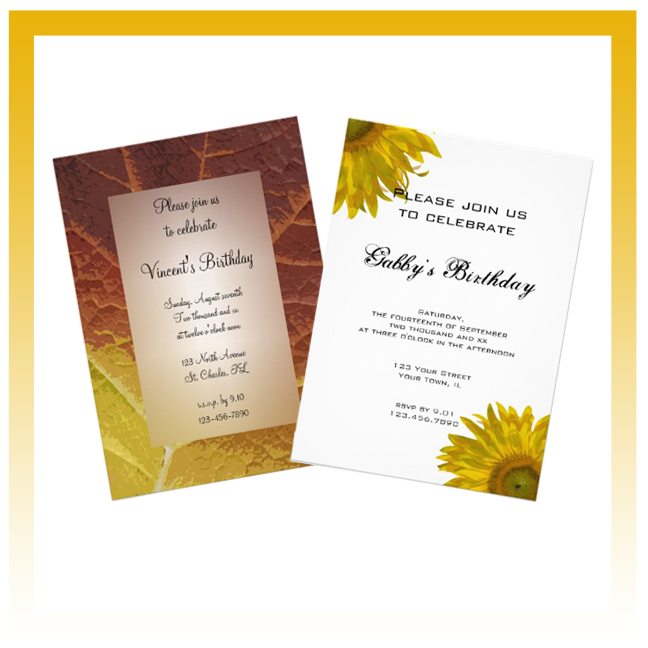All Occasion Party Invitations